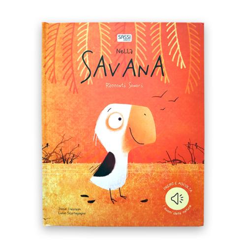 Nella savana, libri sonori