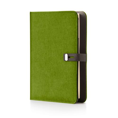 Agenda canvas verde