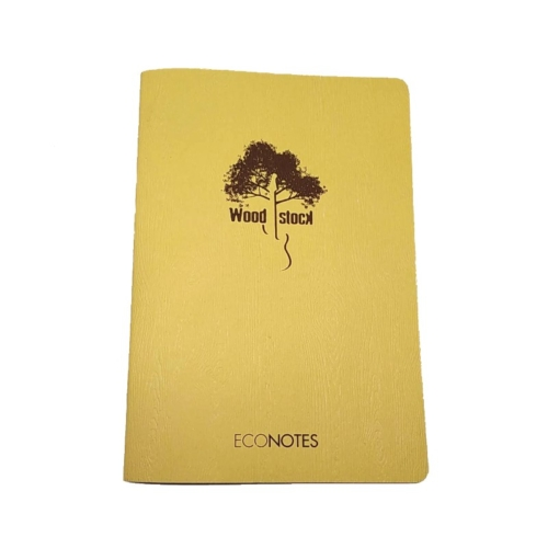 woodstock econotes giallo A5