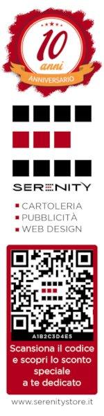 Segnalibro decimo anniversario Serenity